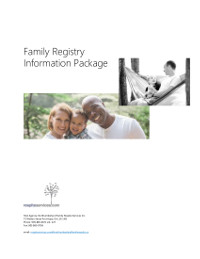 Family Information Package Cover